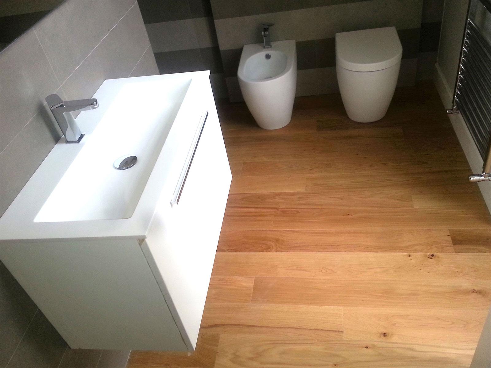 Parquet per bagno